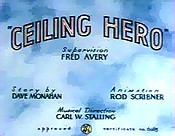 Ceiling Hero Cartoon Picture