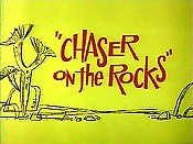 Chaser On The Rocks Cartoon Picture