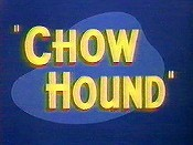 Chow Hound Cartoon Character Picture