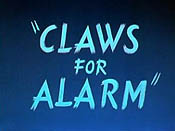 Claws For Alarm Cartoon Pictures