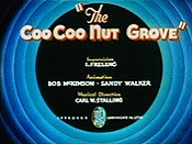 The CooCoo Nut Grove Picture Of The Cartoon