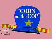 Corn On The Cop Cartoon Picture