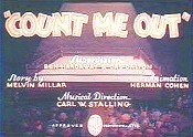 Count Me Out Video