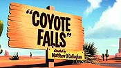 Coyote Falls Pictures To Cartoon