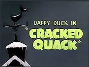 Cracked Quack Cartoon Picture