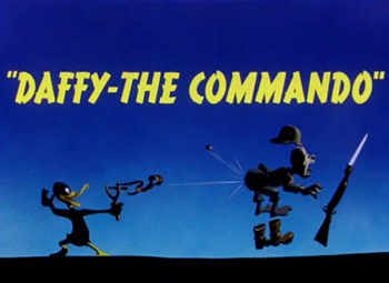 Daffy-The Commando Picture Of The Cartoon