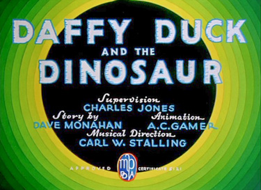 Daffy Duck And The Dinosaur Cartoon Picture