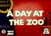 A Day At The Zoo Free Cartoon Picture