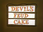 Devil's Feud Cake Cartoon Funny Pictures