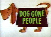 Dog Gone People Cartoon Picture