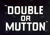 Double Or Mutton Cartoon Picture