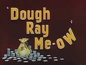 Dough Ray Me-Ow Cartoon Picture