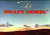 The Draft Horse Free Cartoon Picture