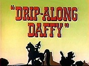 Drip-Along Daffy Cartoon Character Picture
