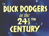 Duck Dodgers In The 24½th Century Picture Into Cartoon