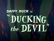 Ducking The Devil Cartoon Picture