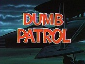 Dumb Patrol Cartoon Picture