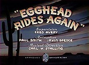 Egghead Rides Again Cartoon Funny Pictures