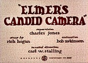 Elmer's Candid Camera Cartoon Pictures