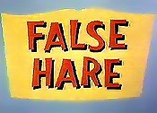 False Hare Cartoon Picture