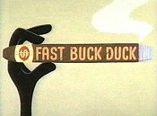 Fast Buck Duck Picture Of Cartoon