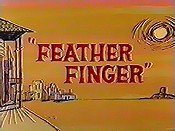 Feather Finger Cartoon Picture