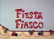Fiesta Fiasco Cartoon Character Picture