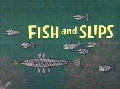 Fish And Slips Cartoon Picture