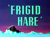 Frigid Hare The Cartoon Pictures