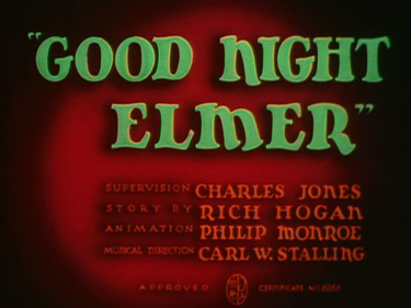 Good Night, Elmer Cartoon Pictures