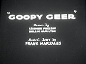 Goopy Geer Video