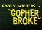 Gopher Broke Free Cartoon Picture