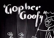 Gopher Goofy Cartoon Picture