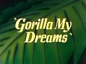 Gorilla My Dreams Cartoon Picture