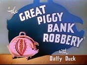 The Great Piggy Bank Robbery Picture Of Cartoon
