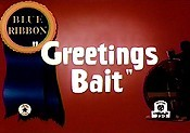 Greetings Bait Cartoon Picture