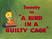 A Bird In A Guilty Cage Cartoon Picture