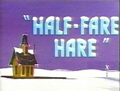 Half-Fare Hare Cartoon Picture