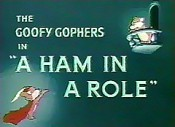 A Ham In A Role Cartoon Picture