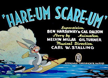 Hare-Um Scare-Um Cartoon Picture