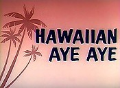 Hawaiian Aye Aye Cartoon Picture