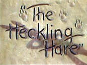 The Heckling Hare Cartoon Picture
