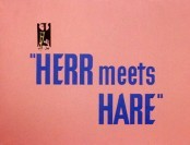 Herr Meets Hare Cartoon Picture