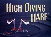 High Diving Hare Picture Into Cartoon