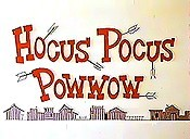 Hocus Pocus Powwow Cartoon Character Picture