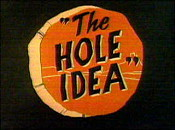 The Hole Idea Cartoon Picture