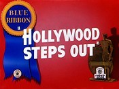 Hollywood Steps Out Cartoon Picture