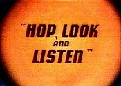 Hop, Look And Listen Video
