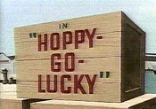 Hoppy-Go-Lucky Cartoon Picture