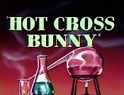 Hot Cross Bunny Free Cartoon Picture